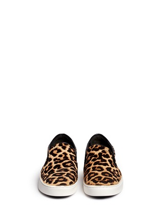 Figure View - Click To Enlarge - Michael Kors - 'Kyle' cheetah print calf hair slip-ons