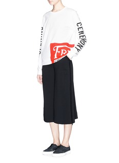 OPENING CEREMONY'Fresh!' barcode label print T-shirt
