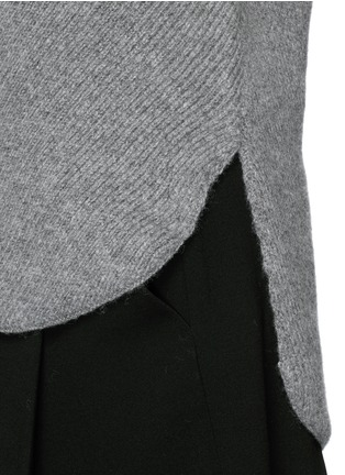 Detail View - Click To Enlarge - Alexander Wang  - Wool-cashmere knit sweater