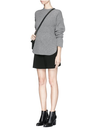 Figure View - Click To Enlarge - Alexander Wang  - Wool-cashmere knit sweater