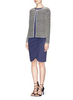 ARMANI COLLEZIONIBead stripe jacket