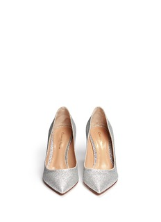 GIANVITO ROSSI Glitter pumps
