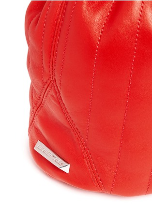 - Elizabeth and James - 'Cynnie' mini quilted leather bucket bag