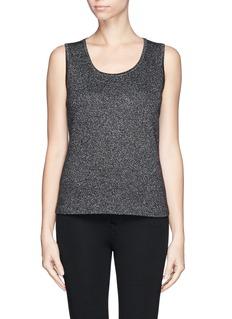 ST. JOHNGlitter knit sleeveless top