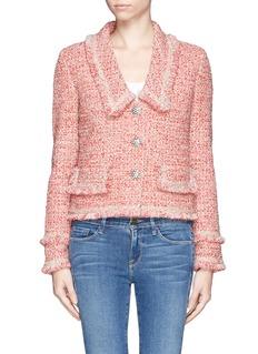 ST. JOHNSparkle eyelash knit jacket