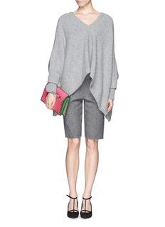 VALENTINOCashmere knit poncho sweater