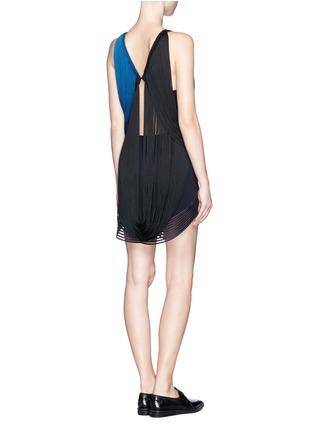 Figure View - Click To Enlarge - Stella McCartney - Rib wave fringe dress