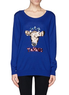 MARKUS LUPFER 'Taurus' sequin sweater