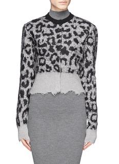 ACNE STUDIOS'Gabi Animal' leopard print cardigan