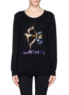 MARKUS LUPFER'Sagittarius' sequin sweater
