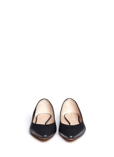CHLOÉ Leather point toe flats