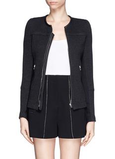 IRO'Clever' stretch knit jacket