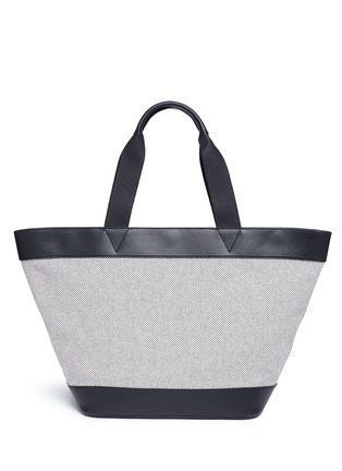 Alexander Wang -Leather trim canvas tote