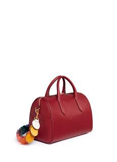 Anya Hindmarch'Vere Barrel' lasercut link strap leather bag
