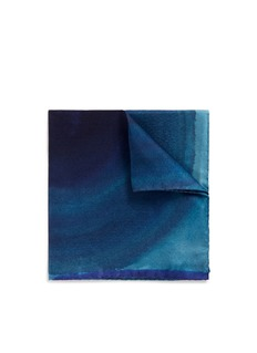 Paul Smith Spot silk pocket square