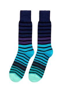 Paul Smith'Fialor' stripe socks