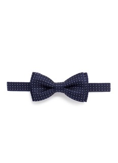 Paul Smith Dot stripe silk bow tie