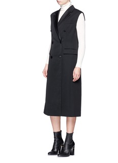 3.1 Phillip Lim Duchesse satin vest dress