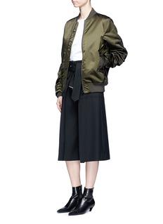 Acne Studios'Leia' satin bomber jacket
