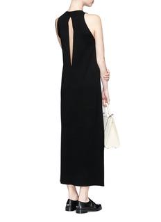 Calvin Klein CollectionKeyhole back wool dress