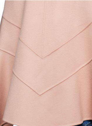 Detail View - Click To Enlarge - Valentino - Virgin wool-cashmere cape jacket