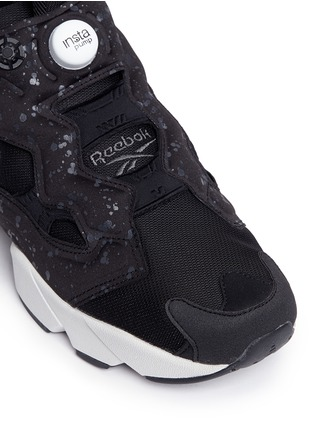 Detail View - Click To Enlarge - Reebok - 'Instapump Fury SP' speckle print slip-on sneakers