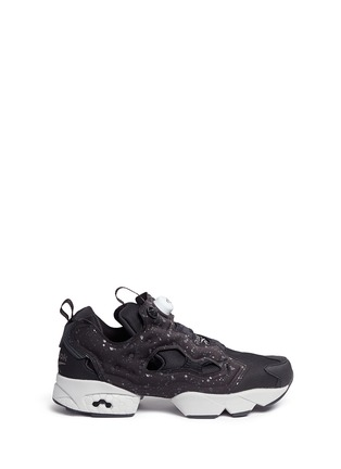 Main View - Click To Enlarge - Reebok - 'Instapump Fury SP' speckle print slip-on sneakers