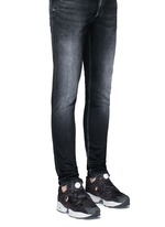 'Instapump Fury SP' speckle print slip-on sneakers