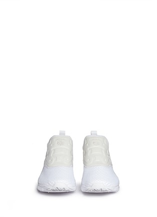 Front View - Click To Enlarge - Reebok - 'FuryLite' slip-on sneakers