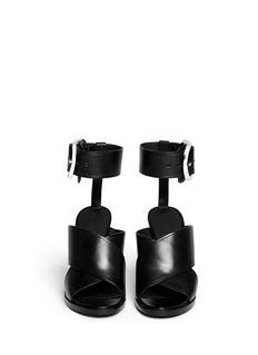 ALEXANDER WANG 'Evelin' buckle cuff leather sandals