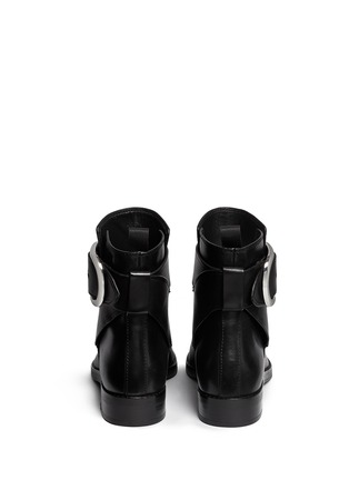 Back View - Click To Enlarge - Alexander Wang  - 'Bara' ankle strap leather boots