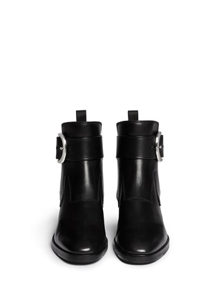 Figure View - Click To Enlarge - Alexander Wang  - 'Bara' ankle strap leather boots