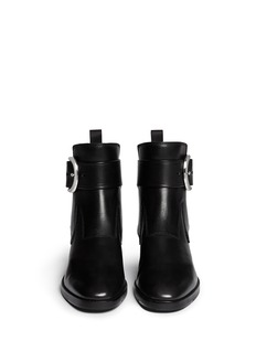 ALEXANDER WANG 'Bara' ankle strap leather boots