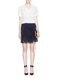 EQUIPMENT'Slim Signature' roll cuff silk shirt