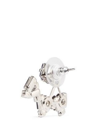 Detail View - Click To Enlarge - Joomi Lim - 'Modern Deco' Swarovski crystal earrings