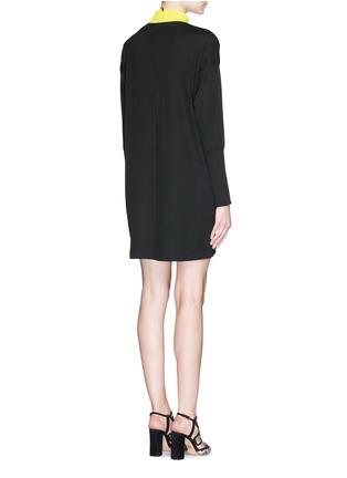 Back View - Click To Enlarge - TANYA TAYLOR - 'Tori' rib knit turtleneck sweater dress