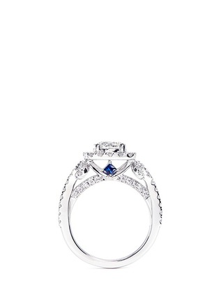 Figure View - Click To Enlarge - VERA WANG LOVE - Ribbons & Bows - diamond engagement ring