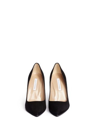 Figure View - Click To Enlarge - DIANE VON FURSTENBERG SHOES - 'Bethany' abstract print stiletto suede pumps