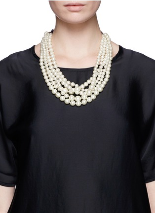 Figure View - Click To Enlarge - J.CREW - Pearl hammock necklace