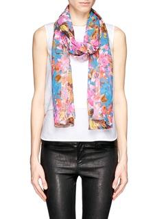 ST. JOHNBotanica floral print  georgette scarf