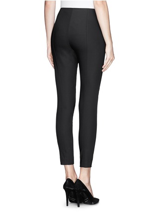 Back View - Click To Enlarge - ST. JOHN - Stretch cropped skinny pants