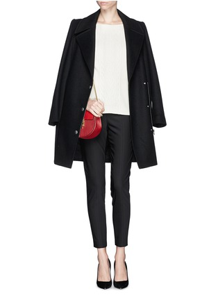 Figure View - Click To Enlarge - ST. JOHN - Stretch cropped skinny pants