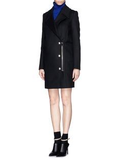 STELLA MCCARTNEYZip placket coat