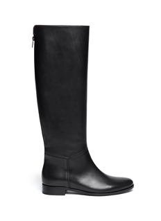 LANVIN Leather zip boots