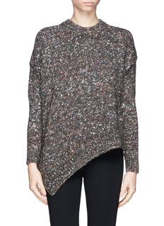 STELLA MCCARTNEYMélange wool silk sweater