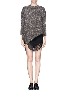 STELLA MCCARTNEY Mélange wool silk sweater