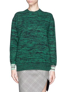 STELLA MCCARTNEY Contrast cuff sweater