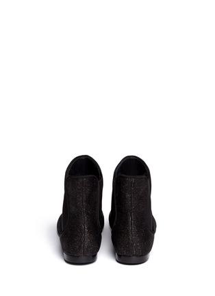 Back View - Click To Enlarge - Giuseppe Zanotti Design - 'Dalila' toe cap boots