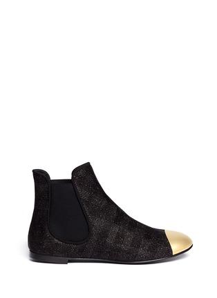 Main View - Click To Enlarge - Giuseppe Zanotti Design - 'Dalila' toe cap boots