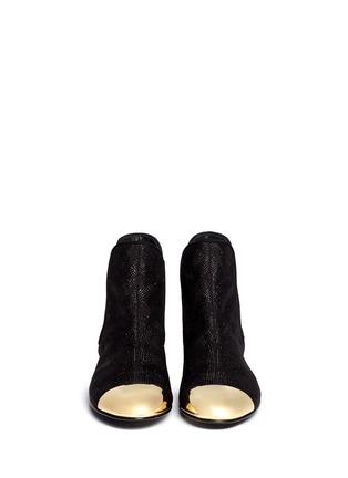 Figure View - Click To Enlarge - Giuseppe Zanotti Design - 'Dalila' toe cap boots